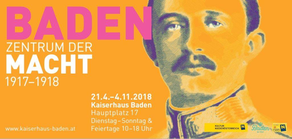 """Sujet - Kaiserhaus """"Baden im Zentrum der Macht"""""""